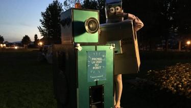 CT yverdon robot qui parle