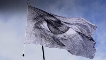 blue bandera